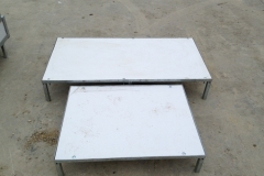 Flat Sleeping Benches